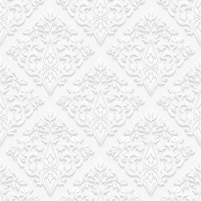 Image Seamless floral pattern dans un style traditionnel