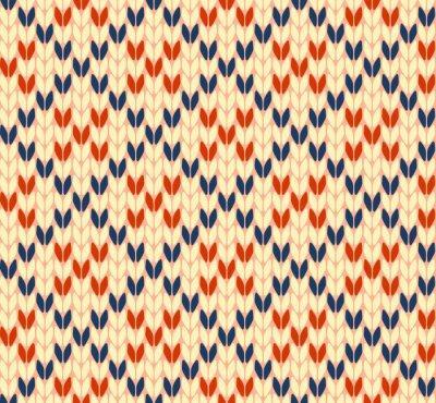Image Seamless, tricoter, vecteur, modèle