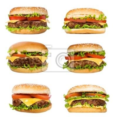 sertie de hamburgers