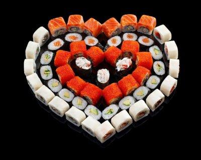 Image Set de sushi