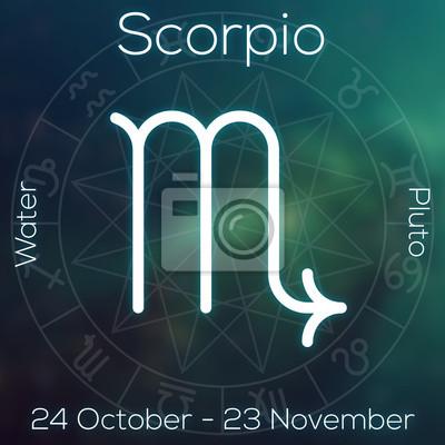 Signe du zodiaque - Scorpion.