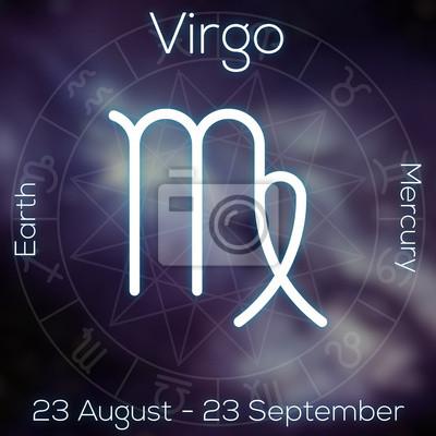 Signe du zodiaque - Vierge.