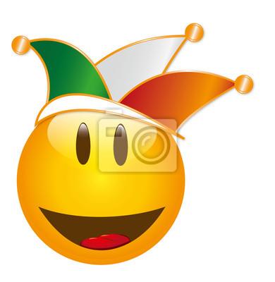 Smiley Fou Peintures Murales Tableaux Emoticones Lol Rejouissez Vous Myloview Fr