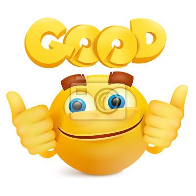 Image Smiley Jaune Visage Personnage De Dessin Animé Emoji