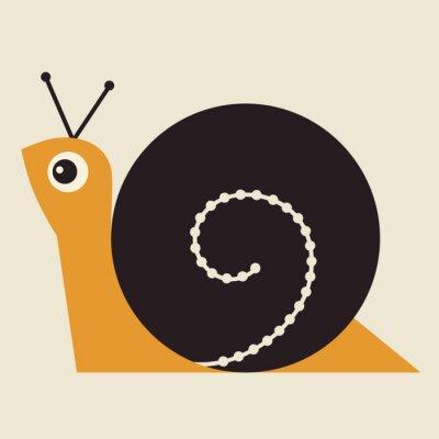 Image Snail Vector Illustration