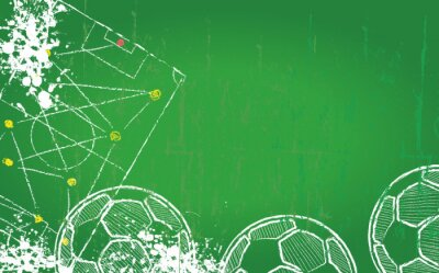 Image Soccer / Football design template,free copy space, vector
