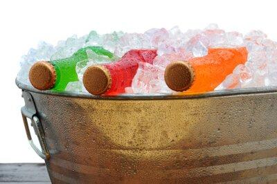 Soda Bottles in PArty Bucket