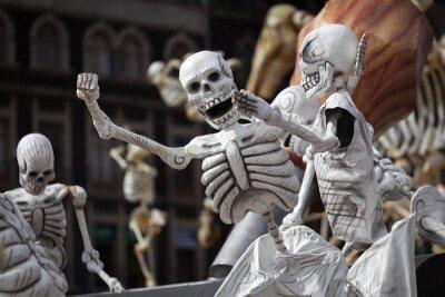 Image Squelettes de la Journée traditionnelle des morts, Mexique
