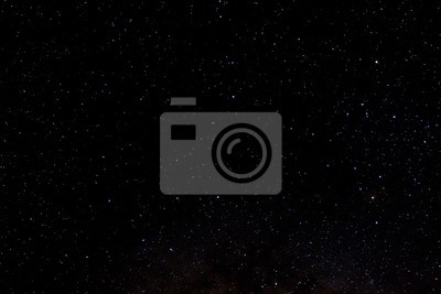 Image Stars and galaxy outer space sky night universe black starry background of shiny starfield