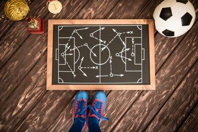 Image Stratégie de jeu de football