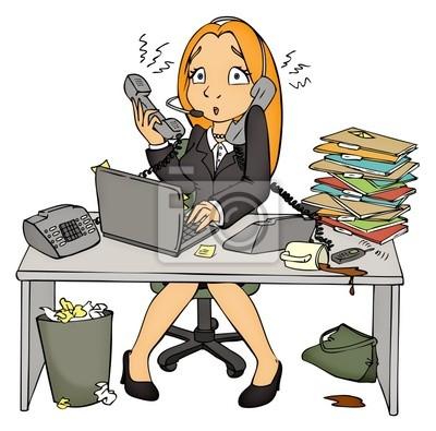 """Résultat de recherche d'images pour """"secrétaire stressée après un appel"""""""