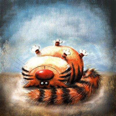 Image Striped cat