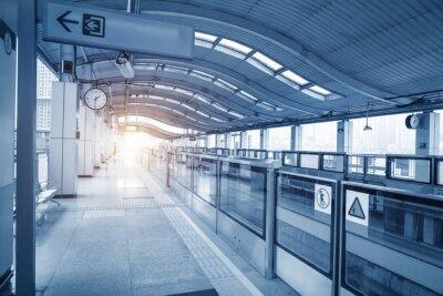 Image Subway station in chongqing ,china