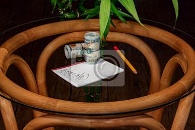Sujets, bureau, bambou peintures murales • tableaux mérite ... on