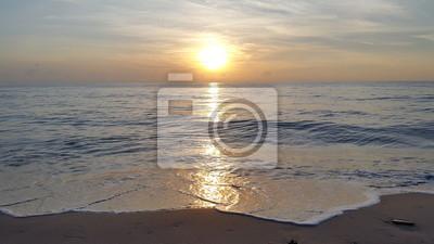 Sunrise @ Cha Am plage, Thaïlande.