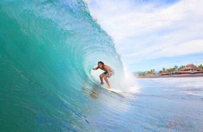 Image Surfer dans un tube