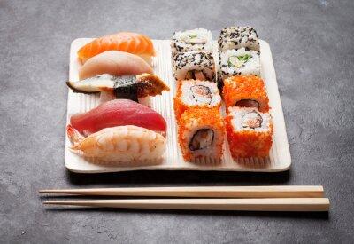 Image Sushi et maki ensemble
