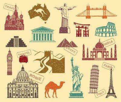 Image Symboles de voyages