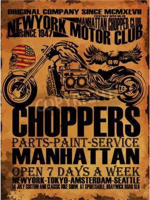 Image T-shirt vintage de moto