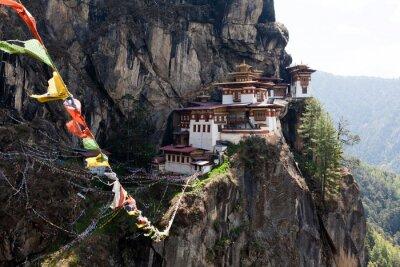 Image Taktshang Goemba, Nid monastère de Tiger au Bhoutan