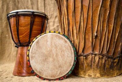 Image tambours djembé main