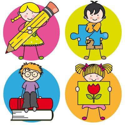 Image Tarjeta aprender un Pintar, escribir, leer, jugar