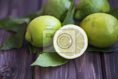 Tas de citrons verts