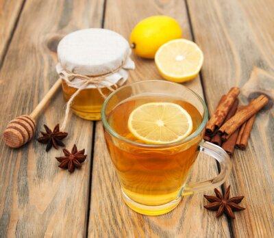 Image Tasse de thé au miel