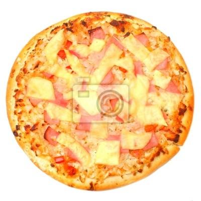 Image Tasty pizza au jambon et fromage.