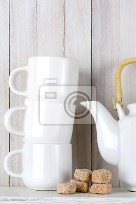 Tea Set et Brown Sugar Cubes