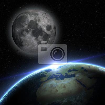 Terre et la Lune