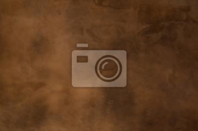 Image Texture d'un béton brun-orange en arrière-plan, mur brun grungy - De grandes textures pour l'arrière-plan