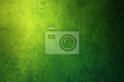 Image texture de fond vert et jaune avec grunge vintage en détresse et design de coin brillant spotlight