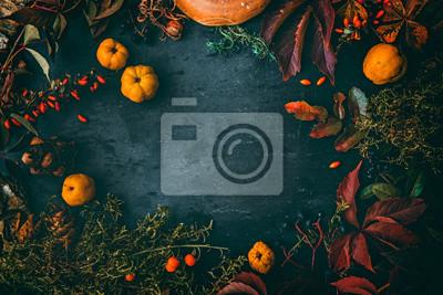 Image Thsanksgiving autumn background