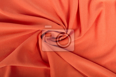Tissu d'arrière-plan orange