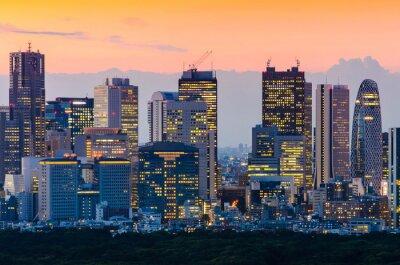 Image Tokyo, Horizon, crépuscule