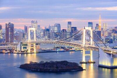 Image Tokyo, Horizon, Tokyo, tour, arc-en-ciel, pont