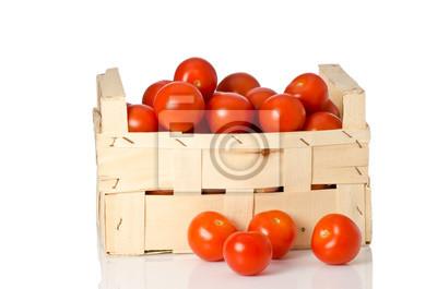 tomaten dans Holzkiste