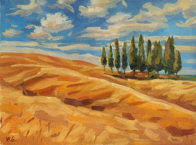 Image Toscane