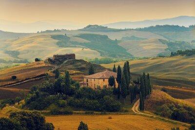 Image Toscane, Italie - San Quirico d'Orcia