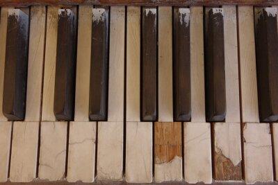 Image Touches de piano ivoire résistantes