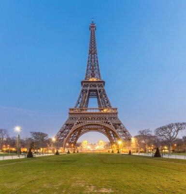 Image Tour Eiffel au lever du soleil