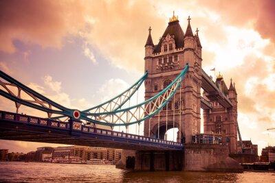 Image Tower Bridge à Londres, Royaume-Uni