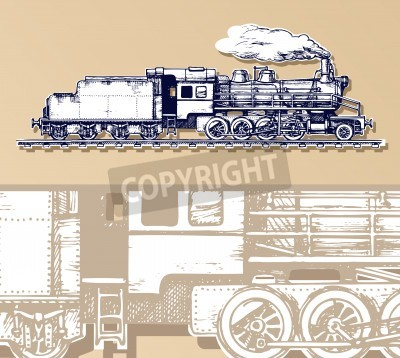 Image train vintage.