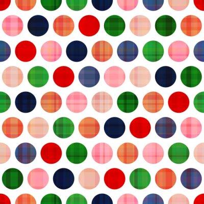 Image transparente motif de pois