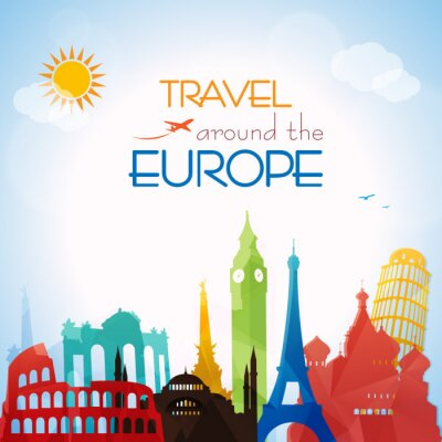 Image Travel around the Europe