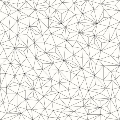 Image Triangles background, seamless pattern, line design