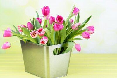 Image Tulpenstrauß dans le vase