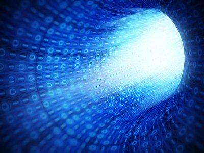 Image Tunnel de code binaire