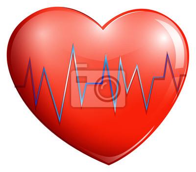 Coeur Humain Photo un coeur humain peintures murales • tableaux sac, contraction